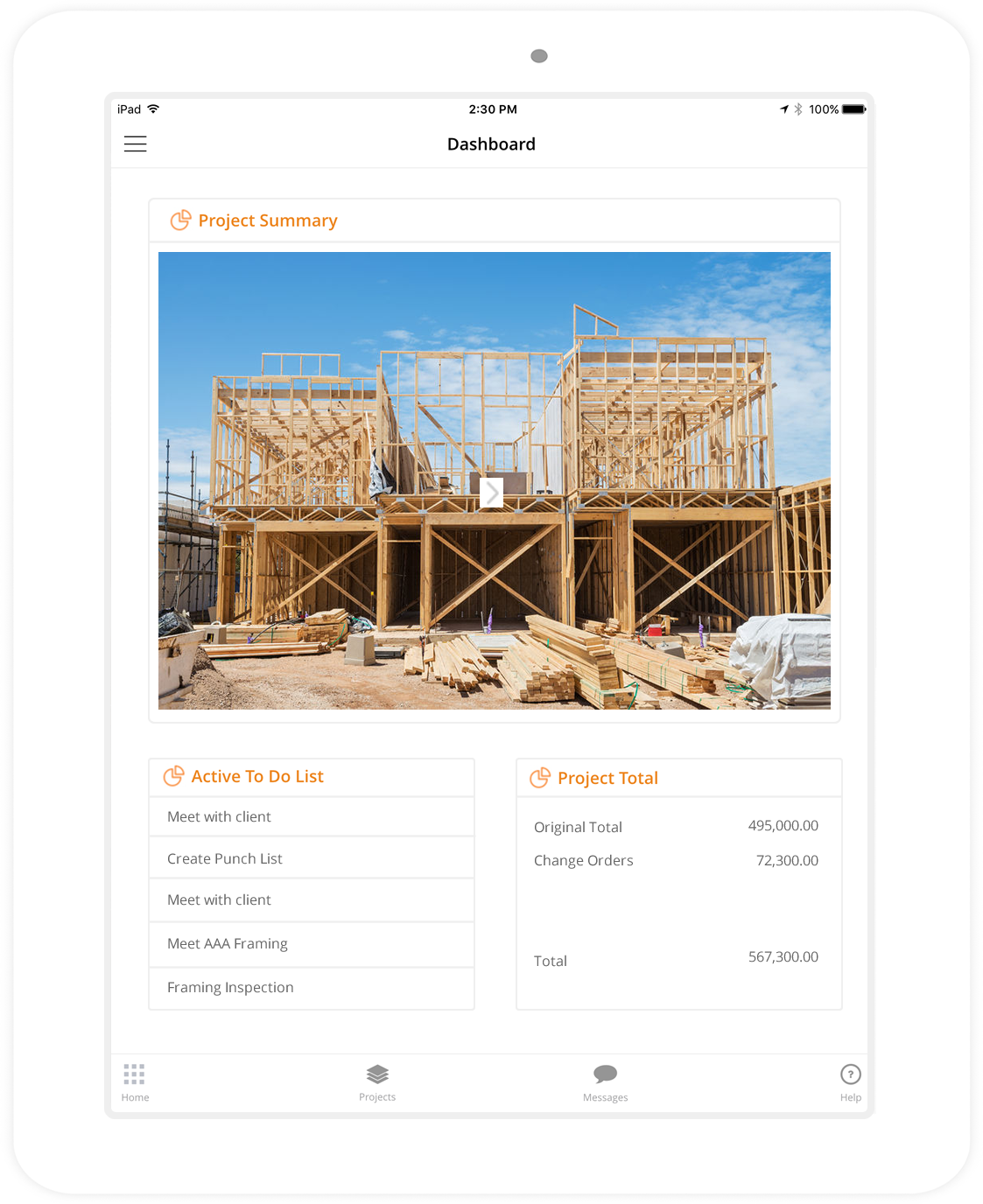 Home builder software for Homebuilder com