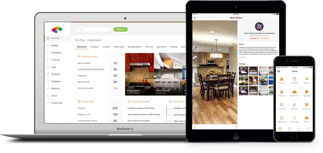 Web and Mobile Software for Remodeling Contractors