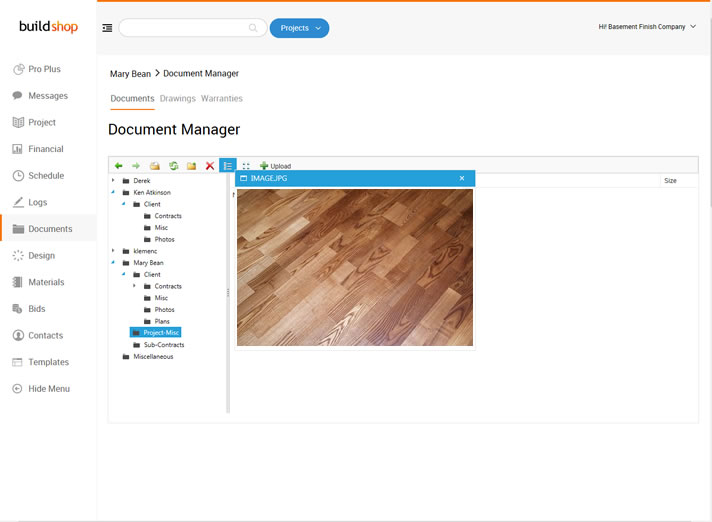 Document Management Software for Remodeling Contractors